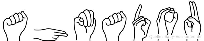 Ahmadou in Fingersprache für Gehörlose