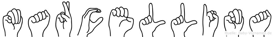 Marcellina in Fingersprache für Gehörlose