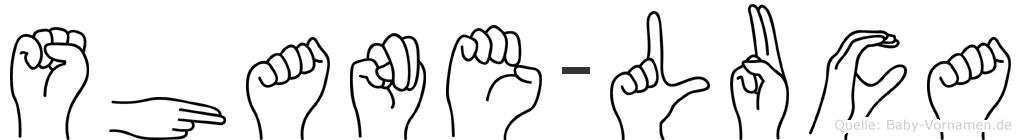 Shane-Luca im Fingeralphabet der Deutschen Gebärdensprache