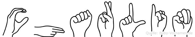 Charlin im Fingeralphabet der Deutschen Gebärdensprache