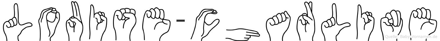 Louise-Charline im Fingeralphabet der Deutschen Gebärdensprache