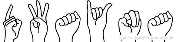 Dwayna in Fingersprache für Gehörlose