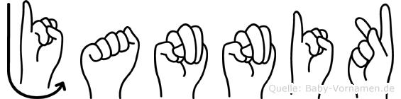 Jannik in Fingersprache für Gehörlose