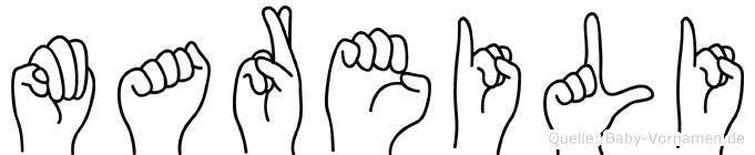 Mareili in Fingersprache für Gehörlose