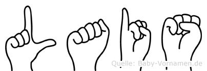 Lais in Fingersprache für Gehörlose
