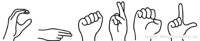 Charel im Fingeralphabet der Deutschen Gebärdensprache