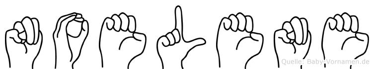 Noelene in Fingersprache für Gehörlose