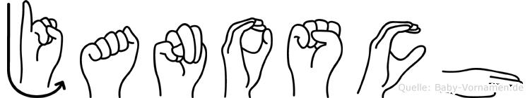 Janosch in Fingersprache für Gehörlose