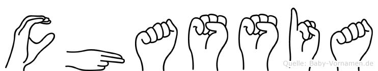 Chassia in Fingersprache für Gehörlose
