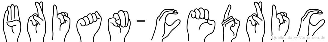 Brian-Cedric im Fingeralphabet der Deutschen Gebärdensprache