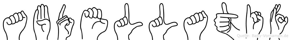 Abdellatif in Fingersprache für Gehörlose