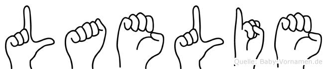Laelie in Fingersprache für Gehörlose