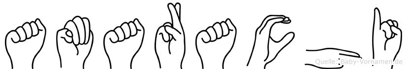 Amarachi in Fingersprache für Gehörlose