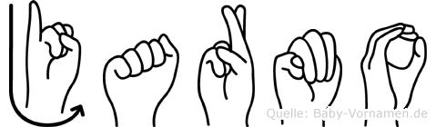 Jarmo im Fingeralphabet der Deutschen Gebärdensprache