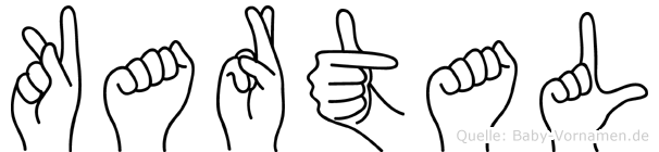 Kartal in Fingersprache für Gehörlose