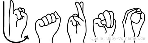 Jarno im Fingeralphabet der Deutschen Gebärdensprache