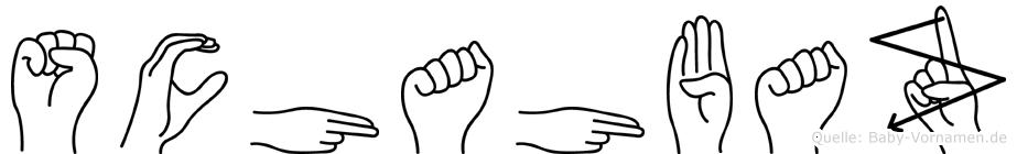 Schahbaz in Fingersprache für Gehörlose