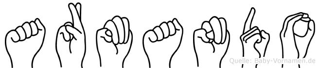 Armando in Fingersprache für Gehörlose