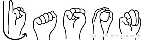 Jason in Fingersprache für Gehörlose