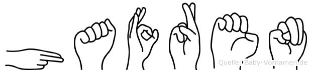 Hafren in Fingersprache für Gehörlose