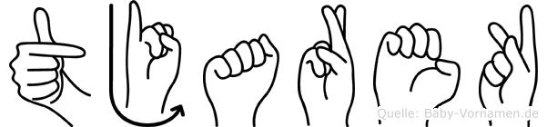 Tjarek in Fingersprache für Gehörlose