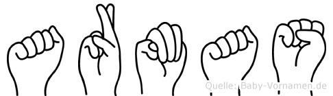 Armas in Fingersprache für Gehörlose