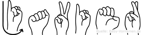 Javier in Fingersprache für Gehörlose