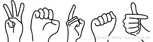 Wedat in Fingersprache für Gehörlose