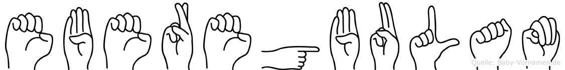 Eberegbulam in Fingersprache für Gehörlose