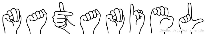 Nataniel in Fingersprache für Gehörlose
