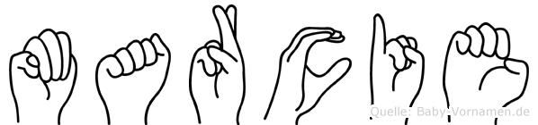 Marcie in Fingersprache für Gehörlose