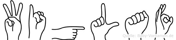 Wiglaf in Fingersprache für Gehörlose
