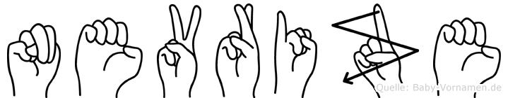 Nevrize in Fingersprache für Gehörlose