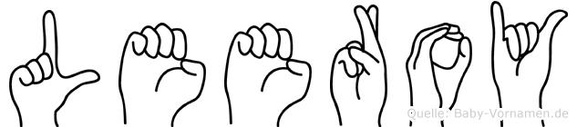 Leeroy in Fingersprache für Gehörlose