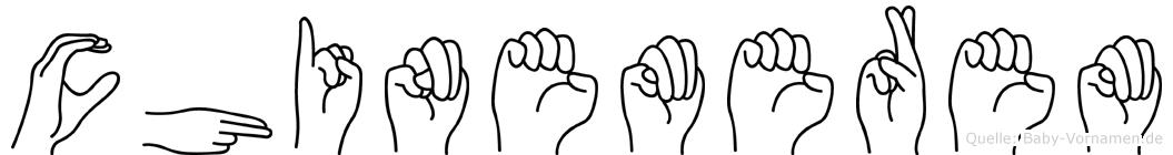 Chinemerem in Fingersprache für Gehörlose