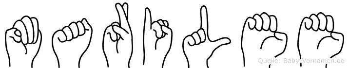 Marilee in Fingersprache für Gehörlose