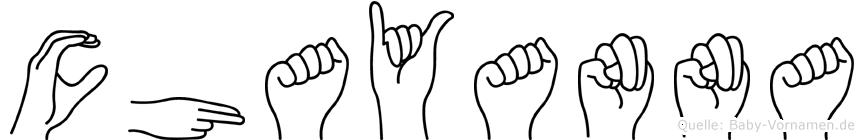 Chayanna in Fingersprache für Gehörlose