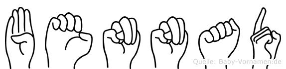 Bennad in Fingersprache für Gehörlose