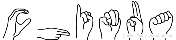 Chinua in Fingersprache für Gehörlose