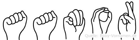 Aamor in Fingersprache für Gehörlose
