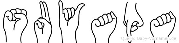 Suyapa in Fingersprache für Gehörlose