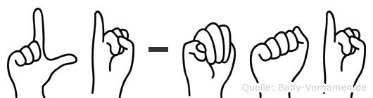 Li-Mai im Fingeralphabet der Deutschen Gebärdensprache