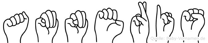 Amneris in Fingersprache für Gehörlose