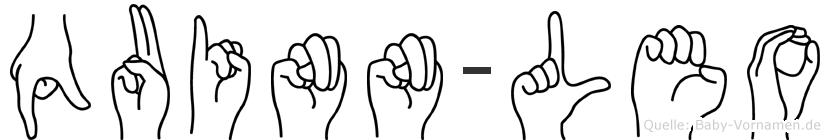 Quinn-Leo im Fingeralphabet der Deutschen Gebärdensprache