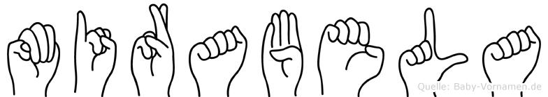 Mirabela in Fingersprache für Gehörlose