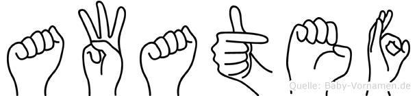 Awatef in Fingersprache für Gehörlose