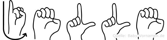 Jelle in Fingersprache für Gehörlose