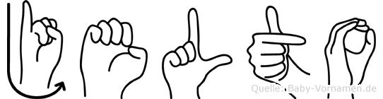 Jelto in Fingersprache für Gehörlose