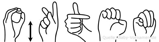 Öktem in Fingersprache für Gehörlose