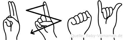 Uzay in Fingersprache für Gehörlose
